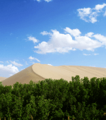 China Dunhuang Sand dunes.