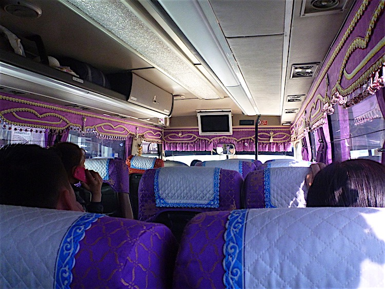 Bus in Mongolia
