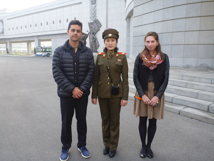 Female Soldier North Korea