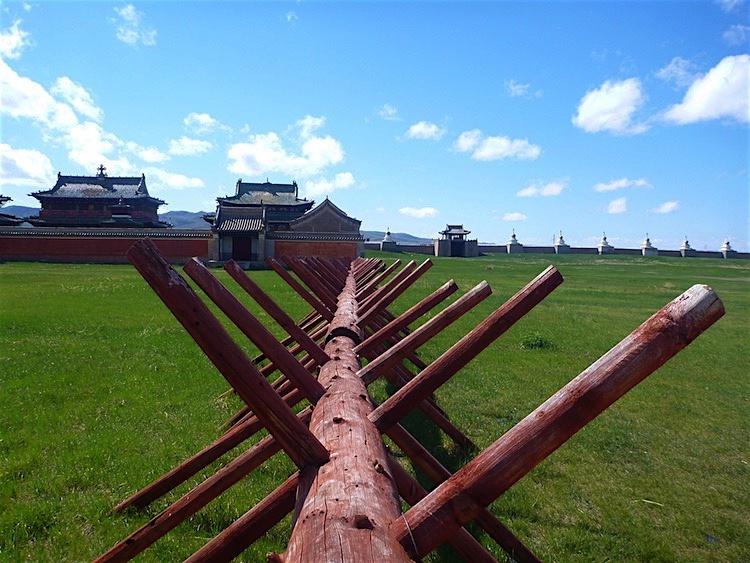 Monastério Erdene Zuu Karakarum Mongólia