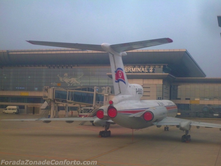 Avião Air Karyo Coreia do Norte