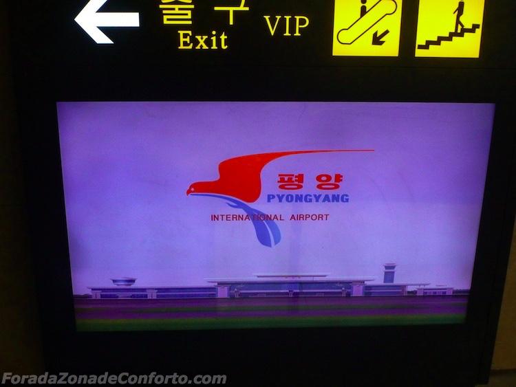 Aeroporto Internacional de Pyongyang Coreia do Norte