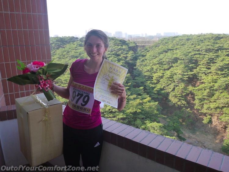 Pyongyang Marathon North Korea award winner 2016