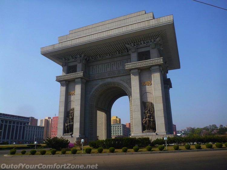 Pyongyang Arch of Triumph North Korea