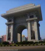 Pyongyang Arch of Triumph North Korea