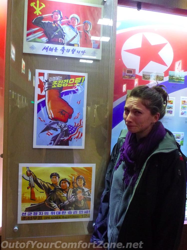 North Korea anti-american propaganda