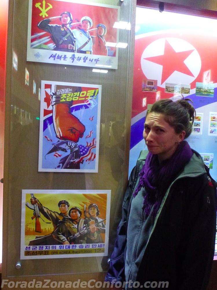 Propaganda contra os Estados Unidos Coreia do Norte