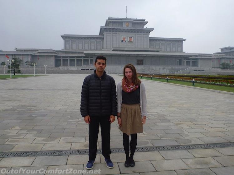 Kumsusan Palace of the Sun western tourists foreigners mausoleum Pyongyang North Korea