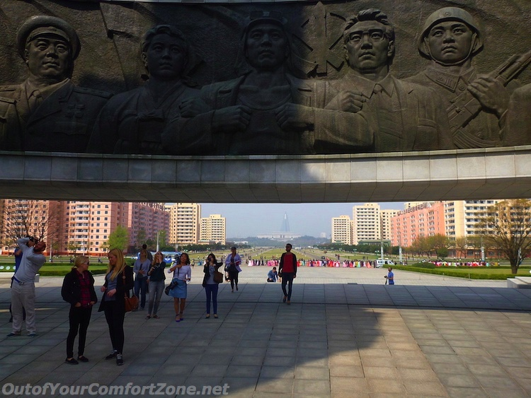Worker's Party Monument Pyongyang North Korea