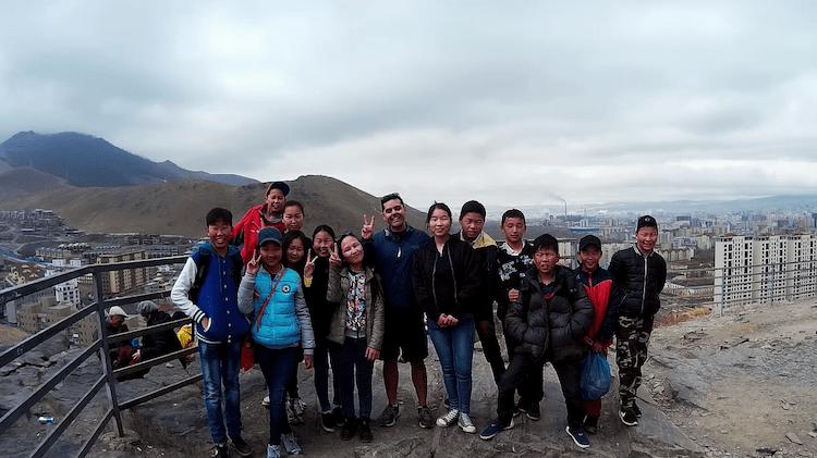 Mongolia students Ulaanbaatar