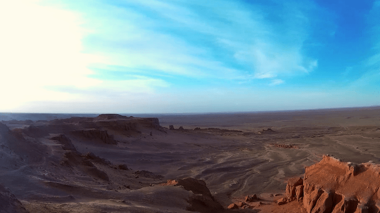 Mongolia Gobi Desert Flaming Cliffs