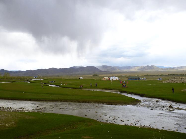 Western Mongolia river beauty landscape