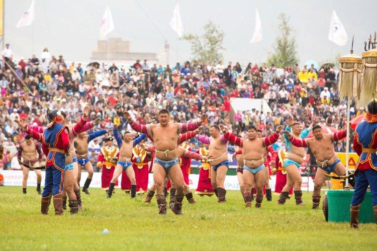Festival Naadam Mongolia