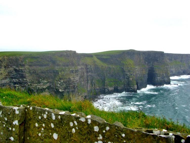 Penhascos Irlanda