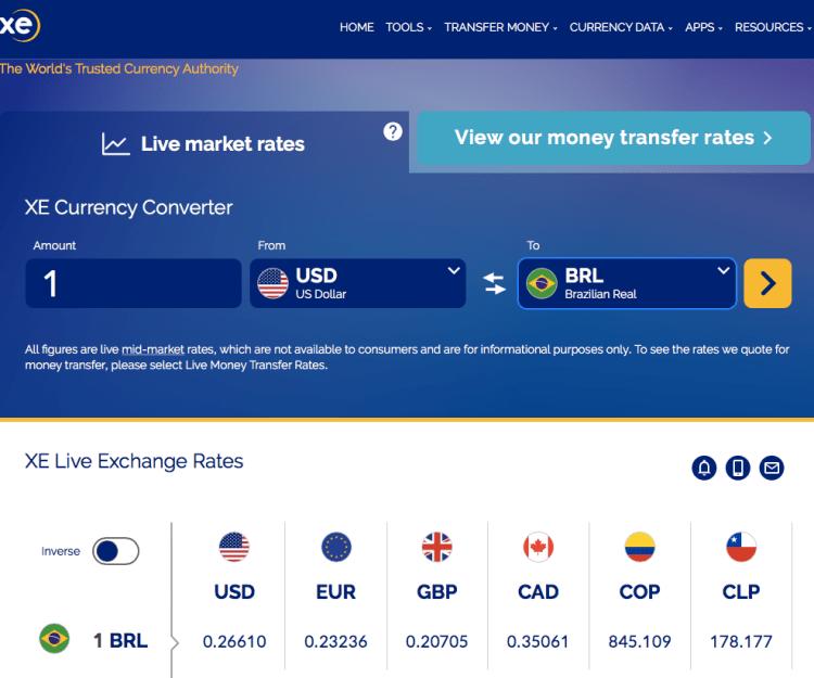 Receber dinheiro do exterior barato 566