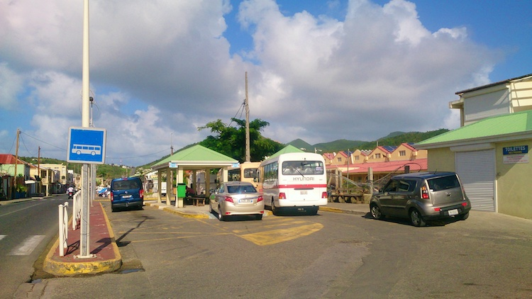 Bus terminal Saint Martin