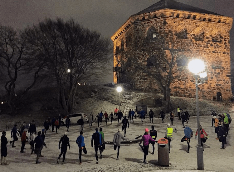 Gothenburg Running Club Skansen Kronan