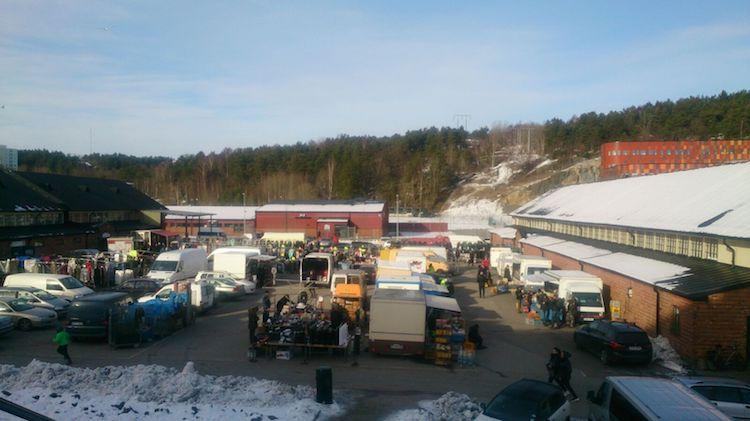Mercado de Kviberg Gotemburgo
