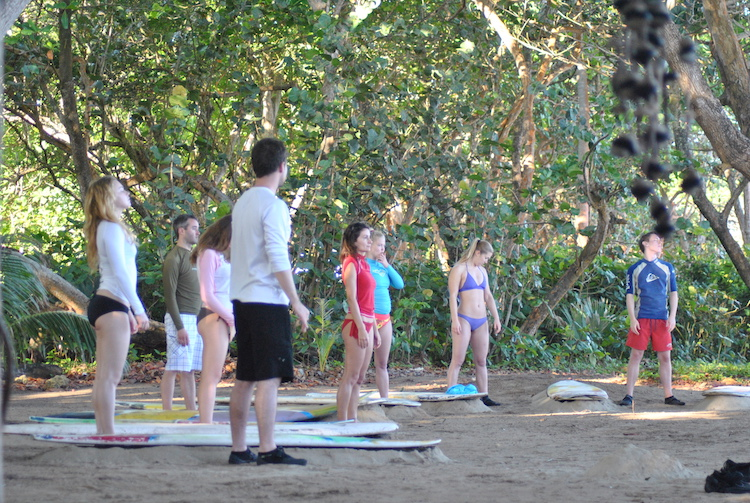 Learning Surfing Cabarete