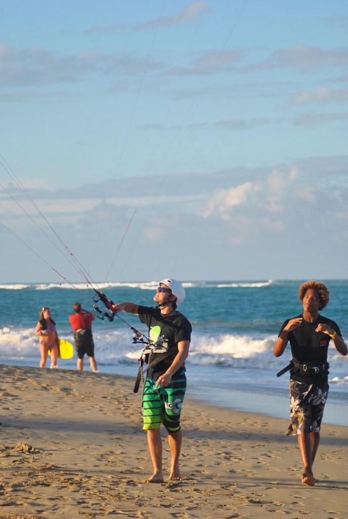 Aprendendo Kitesurfing Cabarete 4