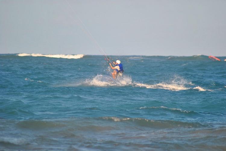 Aprendendo Kitesurfing Cabarete 2