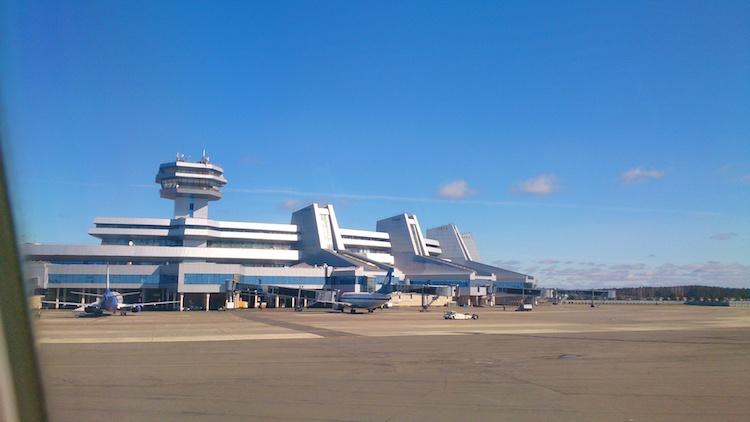 Minsk Airport Belarus
