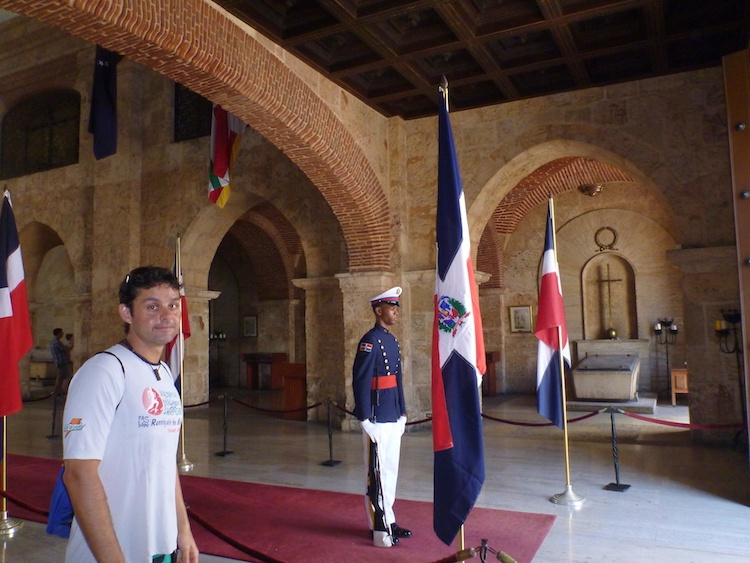 Soldier in the Dominican Republic