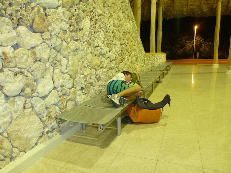 Dormindo em Aeroporto