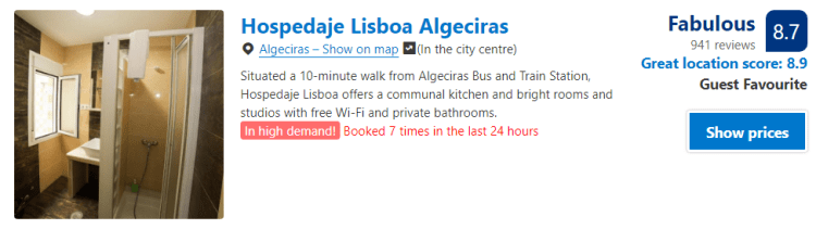 Albergue Algeciras