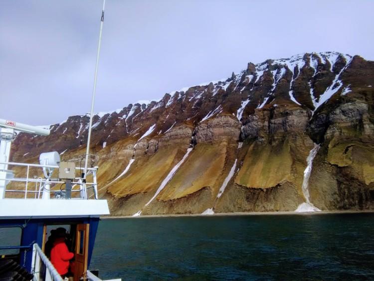 Svalbard Norway Fjord Scenery Boat Ride Henningsen