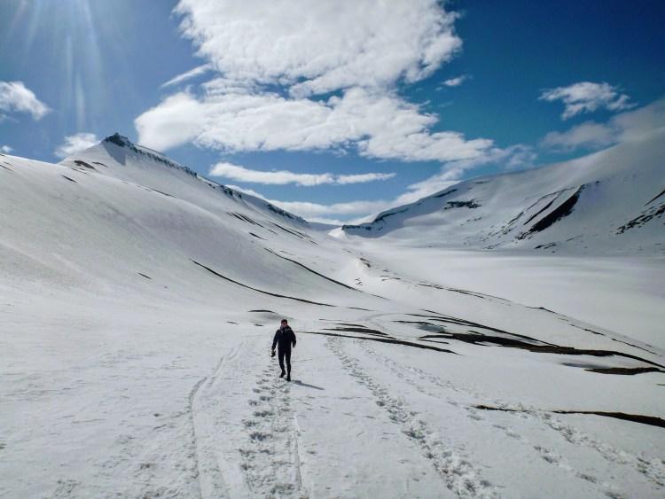 Svalbard noruega Sarkofagan