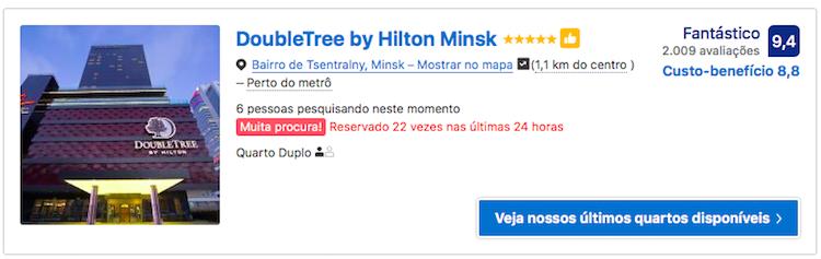 DoubleTree by Hilton Minsk 2