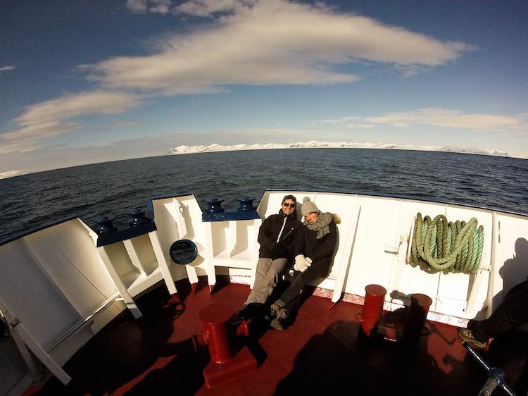 Viagem de barco Svalbard