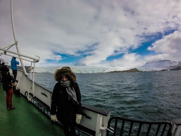 Viagem de barco Svalbard 2