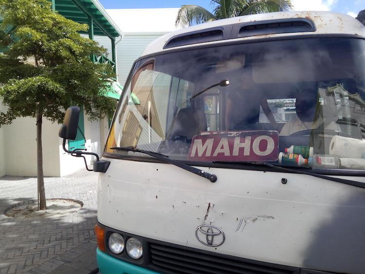 Maho Beach Bus