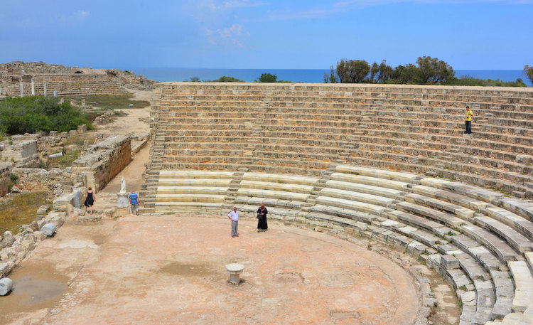 Salamis Ancient City Famagusta Gazimagusa cyprus
