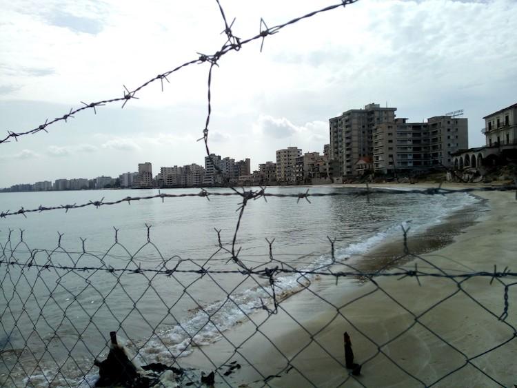 varosha ghost town beach famagusta gazimagusa cyprus