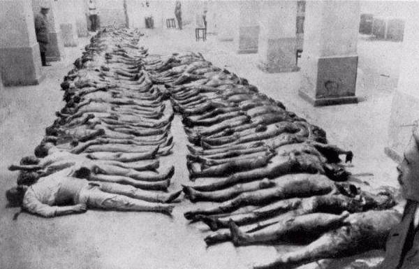 Asesinados por la Cheka de Kiev, Ucrania, en 1919.