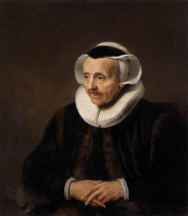 Jacob Adriaensz Backer Portrait Of Woman Oil