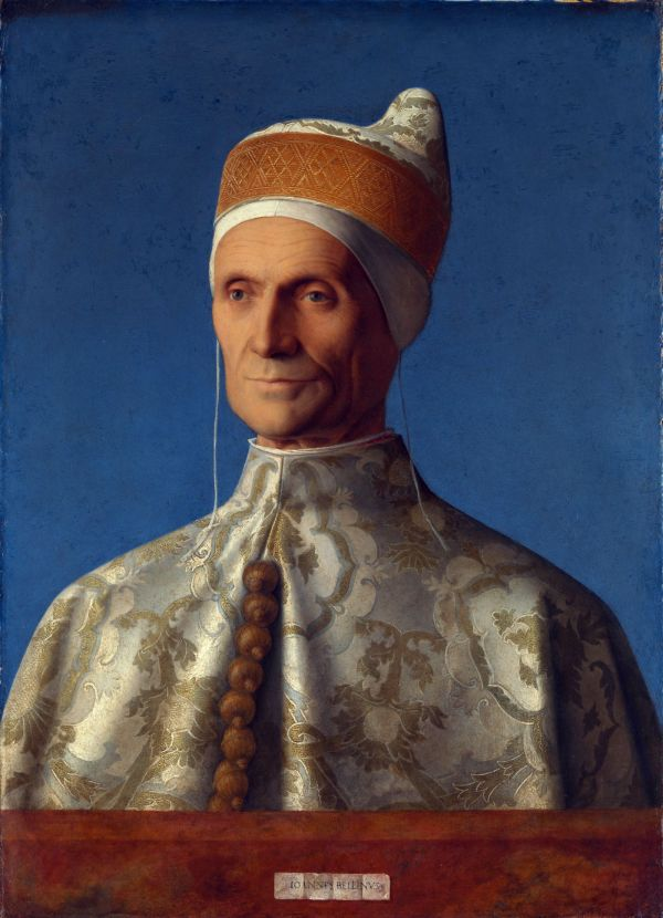 Giovanni Bellini Doge Leonardo Loredan