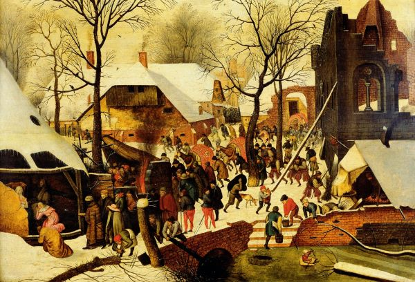 Pieter Younger Brueghel Adoration Of Magi Oil