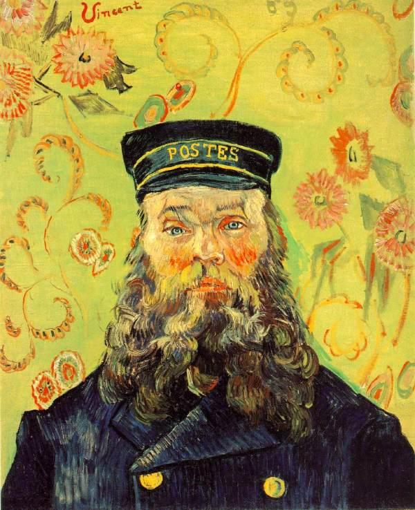 Van Gogh Portrait Of Postman Joseph Roulin Oil