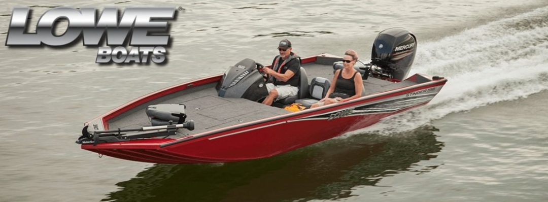 LOWE Metal Boat