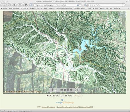 Cave Run Lake Bird's Eye View