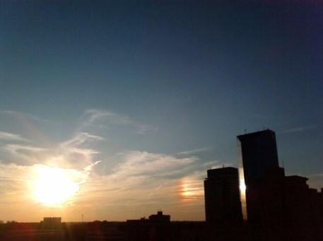 Sundog Over Lexington