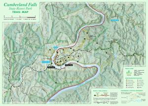July draft of Cumberland Falls trail map