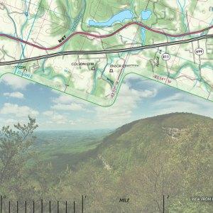 Sample of GPS grid