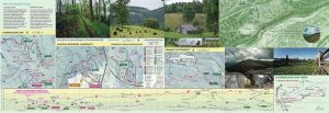 2016 Cumberland Gap trail map, legend and trail elevation