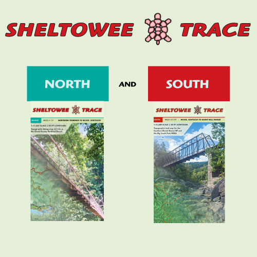 Sheltowee Trace North and South, complete map set