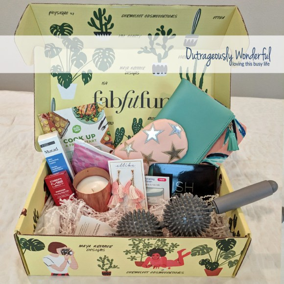 Let's talk about how FabFitFun works. You can choose to be either an annual member or a seasonal member. Seasonal members pay $49.99 for each box and choose if they want that quarter's box shipped to them. Annual members pay $179.99 and automatically receive a box each season. Annual members also get to customize portions of each box and get access to add on items a bit earlier than seasonal members. No matter which subscription option you choose, each box has at least $200 worth of beauty, fashion, wellness and fitness surprises. If you are interested and would like $10 off your first order, use my referral link.